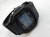 Часы G-Shock G5900, водонепроницаемые, синий циферблат
