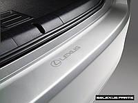 Lexus CT200H 2011-15 защитная наклейка апликация на задний бампер новая оригинал