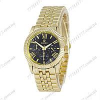 Часы женские наручные Rolex Quartz Gold/Gold/Black