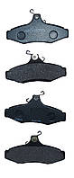 Колодки тормозные задние дисковые  Chevrolet Lacetti, Leganza,  Nubira- 1.6-3.2 1997->HART,-219144-Польша