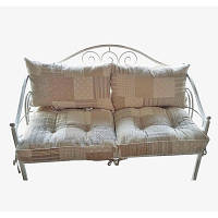 Диван кованый 120х60см з подушками 4 ед.
