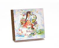 Шкатулка-книга на магните с 9 отделениями Весна