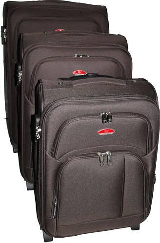 Комплект чемоданов 2-колесных 3 шт. Suitcase 913751-hakki