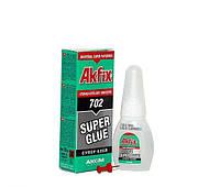 Супер-клей Akfix 702, 20 грамм