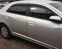 Ветровики Шевроле Кобальт | Дефлекторы окон Chevrolet Cobalt Sd 2012