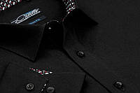 "Рубашка для мужчин ""Maestro di Castello""  черная"