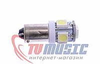 Лампа габаритных огней Т8-002 (BA9S) 5050-5 (12 В)