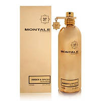 Парфюмированная вода унисекс Montale Amber & Spices 100ml(test)