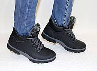 Кожаные женские-подростковые ботинки ECCO