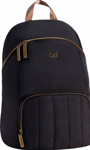 Молодежный городской рюкзак CAT Catwalk 83209;01 черный