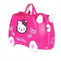 Детский дорожный чемоданчик TRUNKI Hello kitty