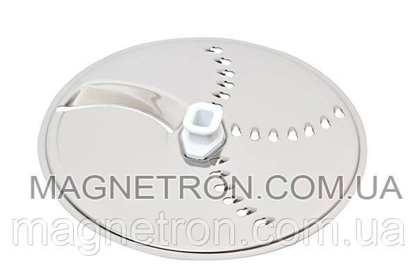 Двухсторонний диск для тонкой нарезки / мелкой шинковки для кухонного комбайна Bosch 650965, фото 2