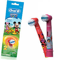 Oral-B Насадки д/детской электрич.зубной щетки 2шт