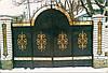 Ворота дворовые кременчуг как правильно сделать ворота из профнастила