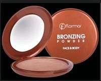 Бронзер, пудра бронзатор Flormar Bronzing Powder face & body с эффектом загара для всех типов кожи DIZ /06-4