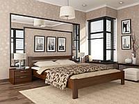 "Двоспальне ліжко ""Рената"" з натурального дерева бук (щит або масив)"