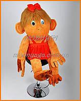 Большая мягкая обезьяна 125 см | новогодние подарки