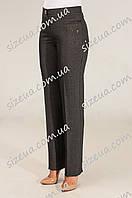 Женские брюки Арина серого цвета