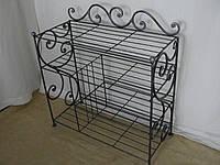 Кованый набор мебели в прихожую  - 021-1