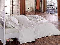 Комплект постельного белья с вышивкой  200х220 Cotton Box REMEMBER BEYAZ