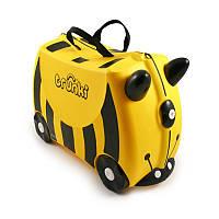 Детский дорожный чемоданчик TRUNKI BEE BERNARD (пчела BERNARD)