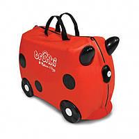 Детский дорожный чемоданчик TRUNKI LADYBUG HARLEY (божья коровка)