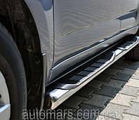 Fiat Doblo Боковые пороги (трубы)