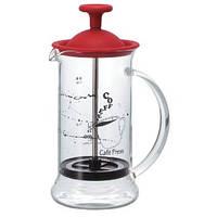 Френч пресс  для кофе Hario красный 240мл