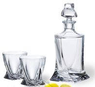 Crystalite Набор для виски Quadro 340 мл/ 850 мл 99999/99А44/480
