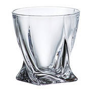 Crystalite Набор стаканов для виски Quadro 340 мл 2K936/99A44/340