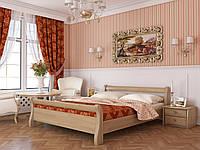 """Двоспальне ліжко """"Діана"""" з натурального дерева бук (щит або масив)"""
