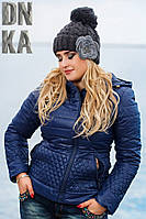 Женская шапка (осень-зима)