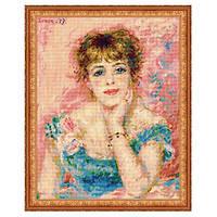 Набор для вышивки Портрет Жанны Самари