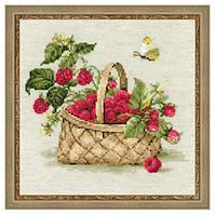 Набор для вышивки Малина в лукошке