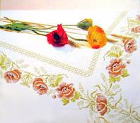 Набор для вышивки Скатерть с маками
