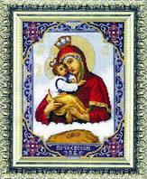 Набор для вышивки Икона Богородица Почаевская