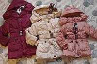 Куртки для девочек. 4-6 лет. Еврозима.