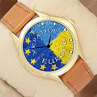 Часы мужские наручные с принтом Украина Europe