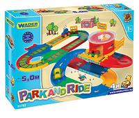 Игровой набор Kid Cars вокзал с дорогой 5м 51792