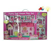 Домик для кукол (свет,музыка,мебель) 16532