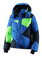 Зимние куртки для подростков мальчиков Reima 531018-6540. Размер 140.