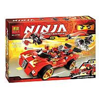 Конструктор Ninja Зарядник ниндзя X-1, 425 деталей Bela 9796