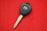 Ключ Mazda 3, 6 лезвие Maz24 с местом под чип-эмулятор