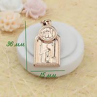 R4-0239 - Исламский кулон с покрытием розовым золотом