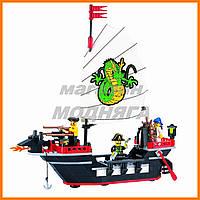 """Детский Конструктор """"Пиратский корабль"""" 211 деталей Brick"""