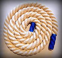 Канат гимнастический, хлопчато-бумажное волокно, диаметр 26мм, индив. Размер