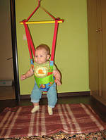 Прыгунки - тарзанка – качели 3в1 с 5-ти месецев.