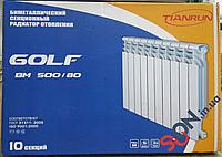 Биметаллический радиатор Golf BM 500 6 секции