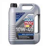 Моторное масло LIQUI MOLY SAE 10W-40 MoS2 Leichtlauf (Молибден) 5л полусинтетика для автомобилей