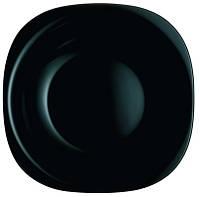 Тарелка Luminarc CARINE black /210мм суп.